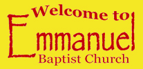 welcome to Emmanuel Baptist church, Eastleigh