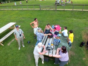 More Picnickers